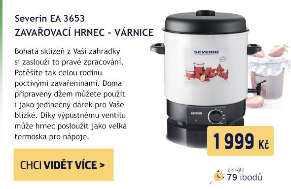SEVERIN EA 3653-zavař.hrnec-várnice