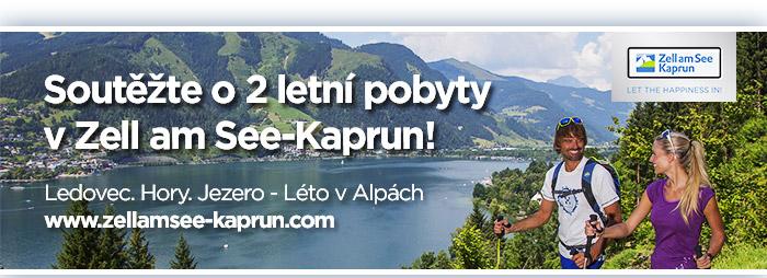 Soutěžte o 2 letní pobyty v Zell am See-Karpun!