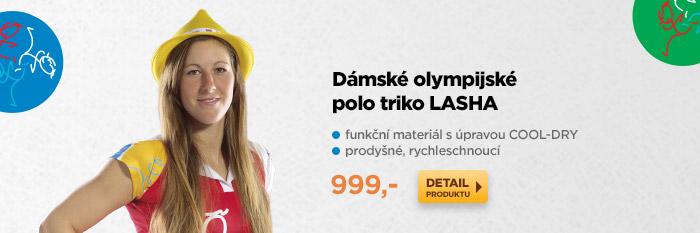 Dámské olympijské polo triko LASHA