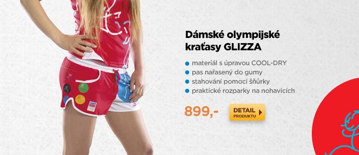 Dámské olympijské kraťasy GLIZZA