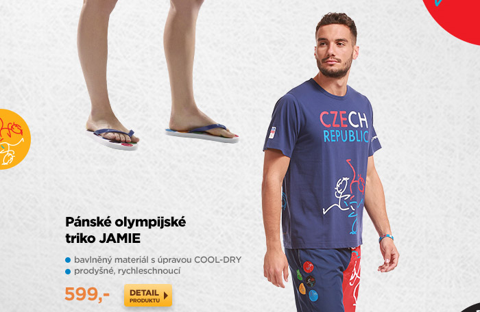 Pánské olympijské triko JAMIE