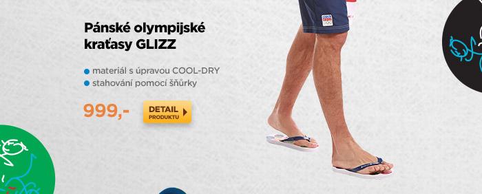 Pánské olympijské kraťasy GLIZZ
