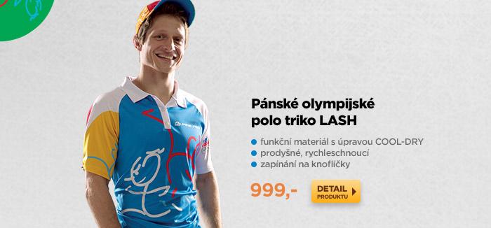 Pánské olympijské polo triko LASH