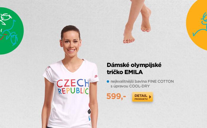 Dámské olympijské tričko EMILA