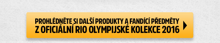 Prohlédněte si další produkty a fandící předměty z oficiální Rio olympijské kolekce 2016