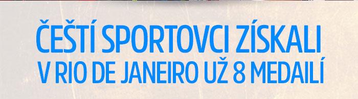 Čeští sportovci získali už 7 medailí