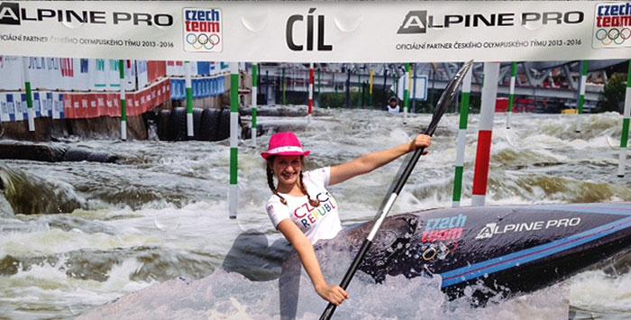 Navštivte olympijský stan Alpine Pro na Lipně i vyfoťte se na divoké vodě