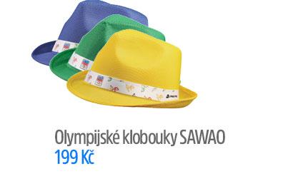 Olympijské klobouky Sawao
