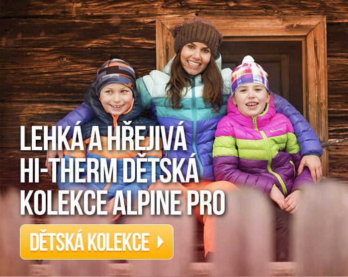 Lehká a hřejivá HI-THERM dětská kolekce Alpine Pro