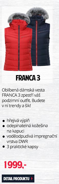 FRANCA 3 - Oblíbená dámská vesta