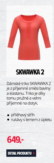 SKWAWKA 2 - Dámské triko ze směsi bavlny a elastanu