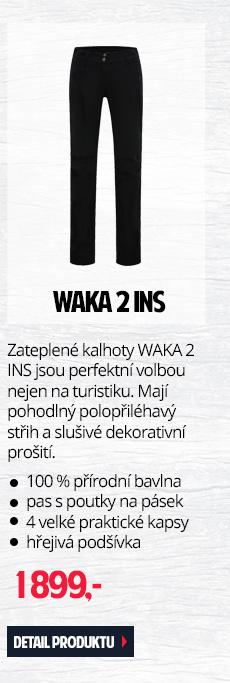 WAKA 2 INS. - Zateplené dámské kalhoty