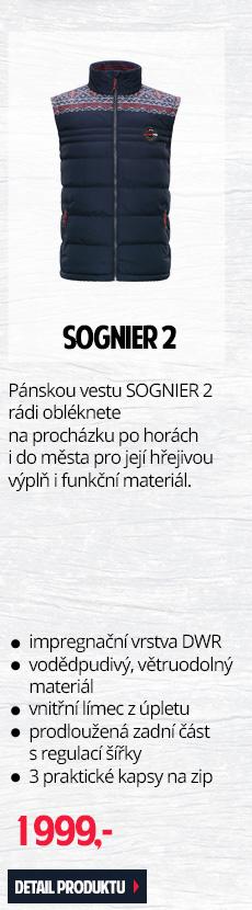 SOGNIER 2 - Pánská vesta