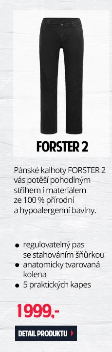 FORSTER 2 - Pánské kalhoty s pohodlným střihem