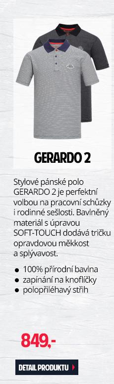 GERARDO 2 - Stylové pánské polo