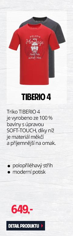 TIBERIO 4 - Pánské triko vyrobeno ze 100 % bavlny