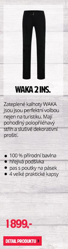 Zateplené kalhoty WAKA 2 INS.
