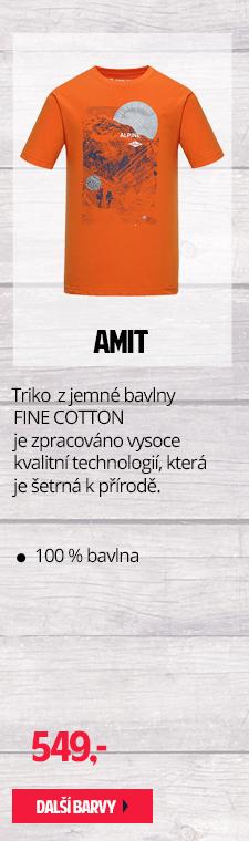 Triko z jemné bavlny AMIT