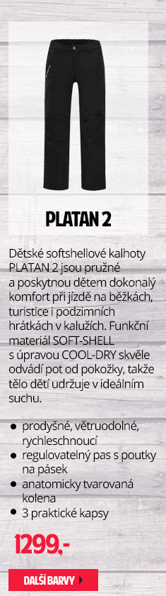 Dětské softshellové kalhoty PLATAN 2