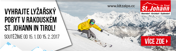 Vyhrajte lyžařský pobyt v rakouském St. Johann in Tirol! Soutěžíme od 15. 1. do 15. 2. 2017