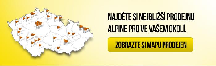 Najděte si nejbližší prodejnu Alpine Pro ve Vašem okolí.