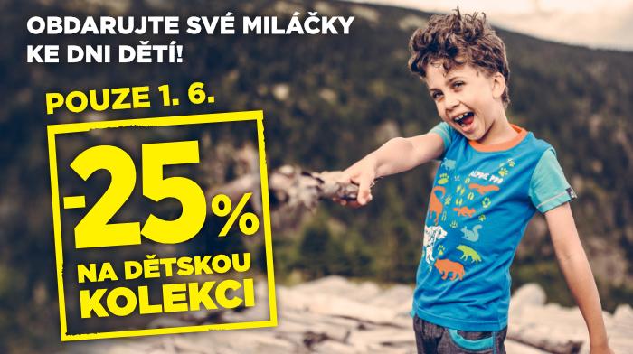 -25% NA DĚTSKOU KOLEKCI