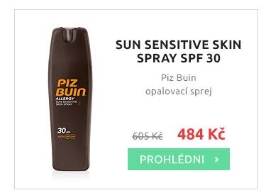 Piz Buin opalovací sprej SPF 30