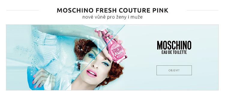 MOSCHINO FRESH COUTURE PINK - nové vůně pro ženy i muže
