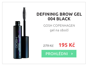 Gosh DEFINING BROW GEL 004 BLACK