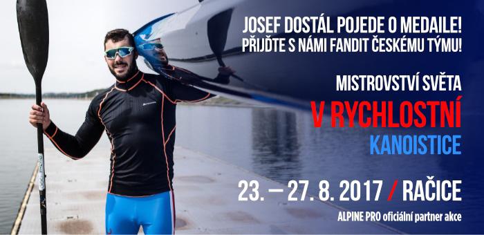 Josef Dostál pojede o medaile!