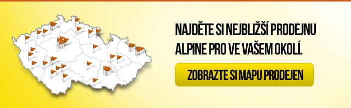 Pobočky Alpine Pro