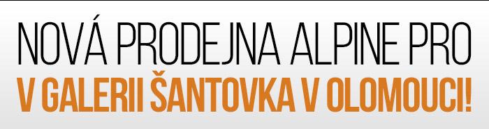 Nová prodejna Alpine pro v Galerii Šantovka v Olomouci