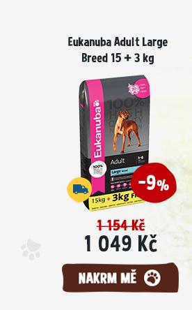 Eukanuba Adult Large Breed 15 + 3 kg