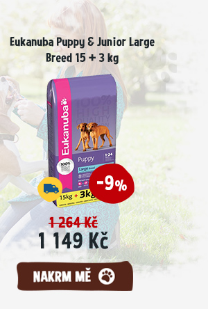 Eukanuba Puppy & Junior Large Breed 15 + 3 kg