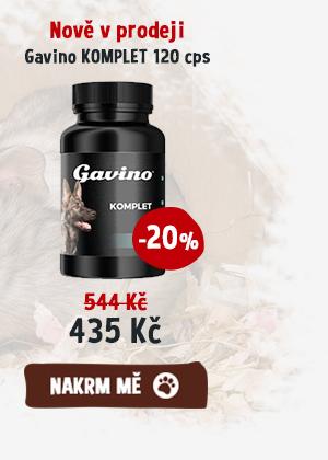 Nově v prodeji Gavino KOMPLET 120 cps