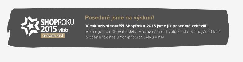 VÍTĚZ SHOP ROKU 2015