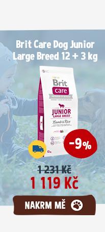 Brit Care Dog Junior Large Breed 12 + 3 kg
