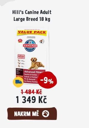 Hills Canine Adult Large Breed 18 kg