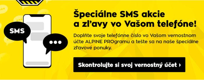 Špeciálne SMS akcie a zľavy vo Vašom telefóne