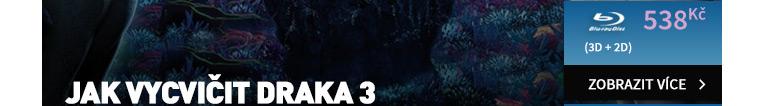 Jak vycvičit draka 3 - Blu-ray 3D   2D (2BD)