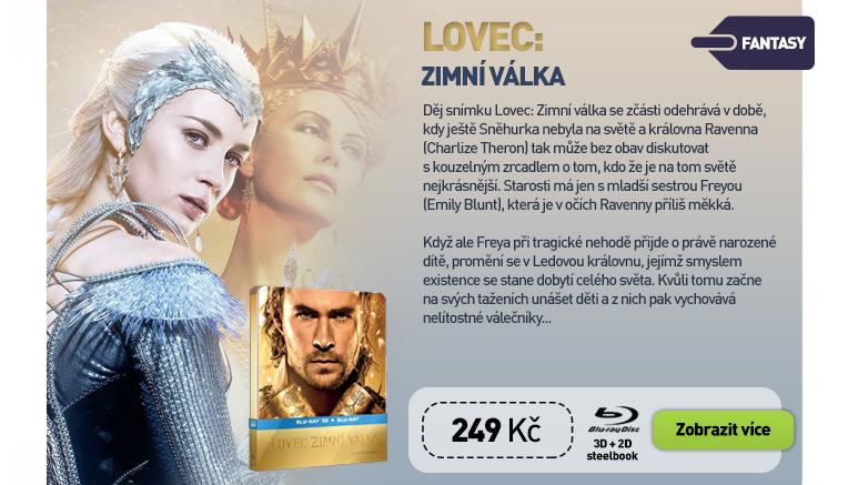 LOVEC: ZIMNÍ VÁLKA - Blu-ray 3D   2D STEELBOOK (2 BD)