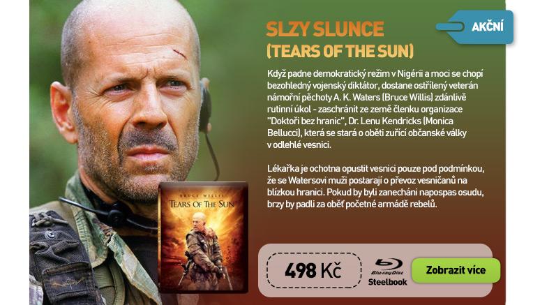 Slzy slunce (Tears of the Sun) - Blu-ray Steelbook