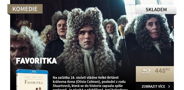 Favoritka - Blu-ray