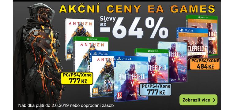 Akční ceny EA Games