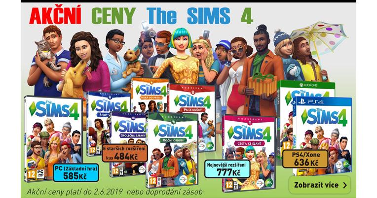 Akční ceny Sims 4