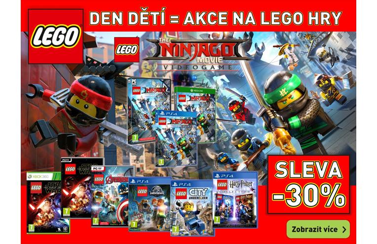 Sleva na Lego hry