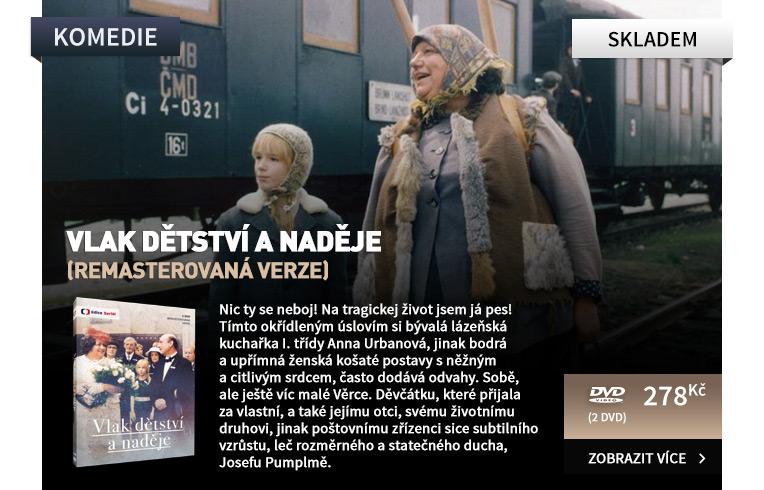 Vlak dětství a naděje (remasterovaná verze) - 2 DVD