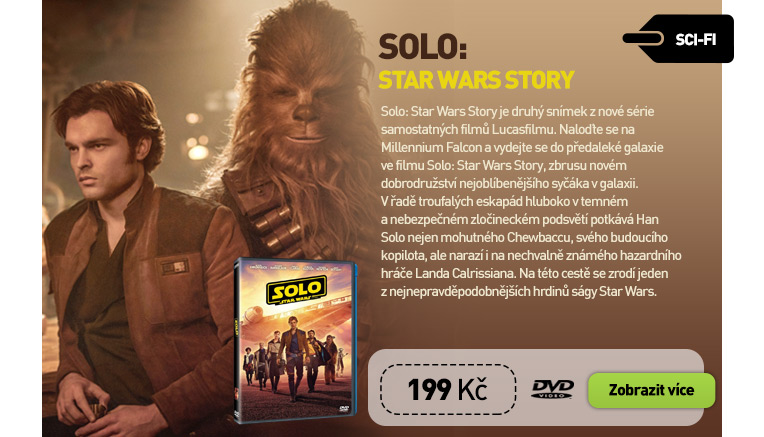 Solo: Star Wars Story - DVD