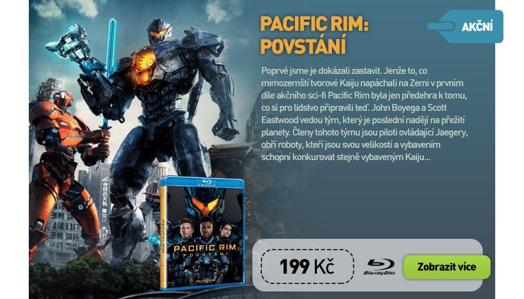 Pacific Rim: Povstání - Blu-ray