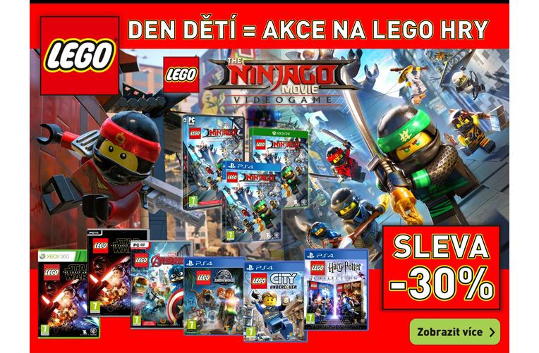 Lego hry akce